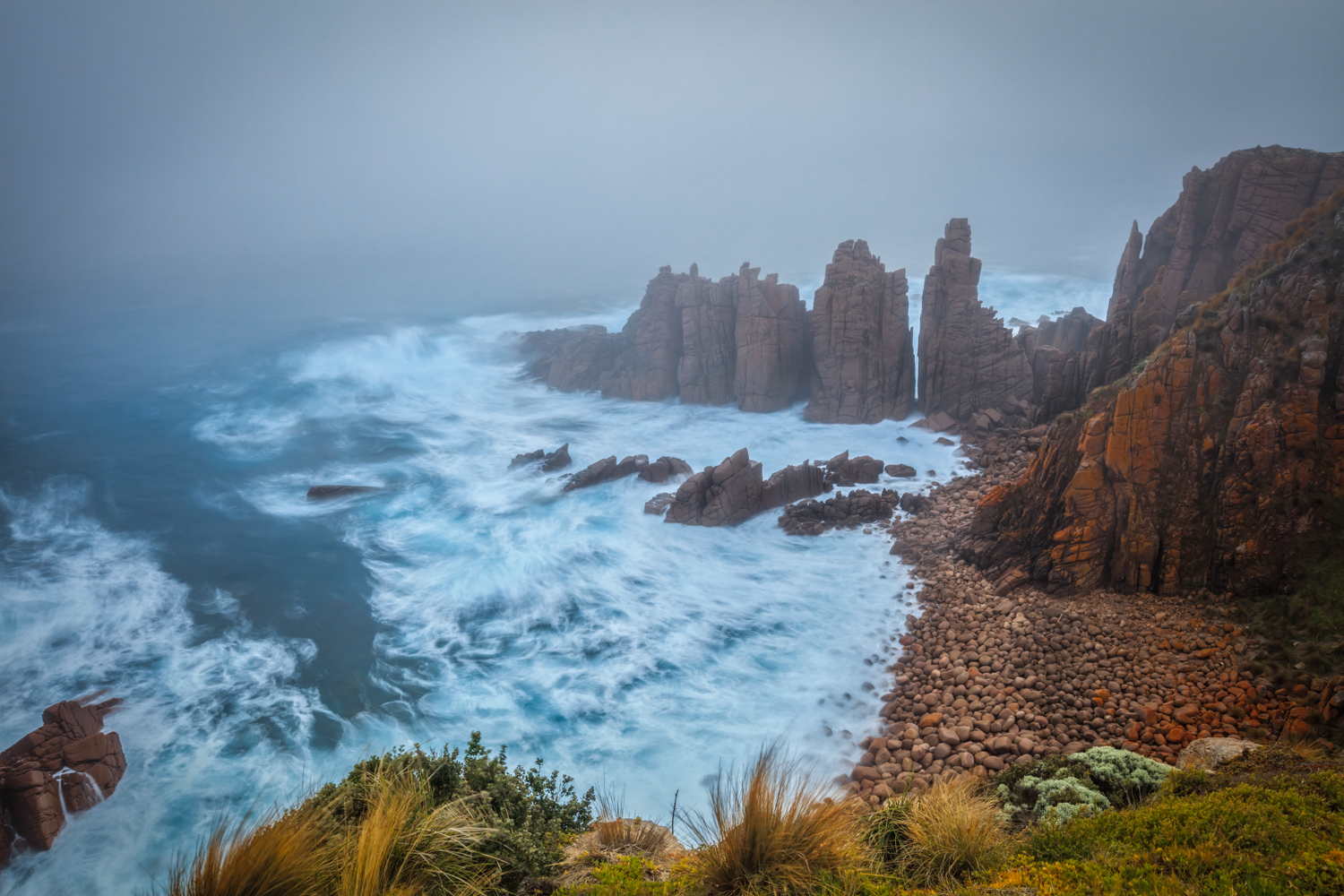 Landscape and Panorama Photography Workshop, Phillip Island - The Pinnacles at Cape Woolamai, Victoria Australia.