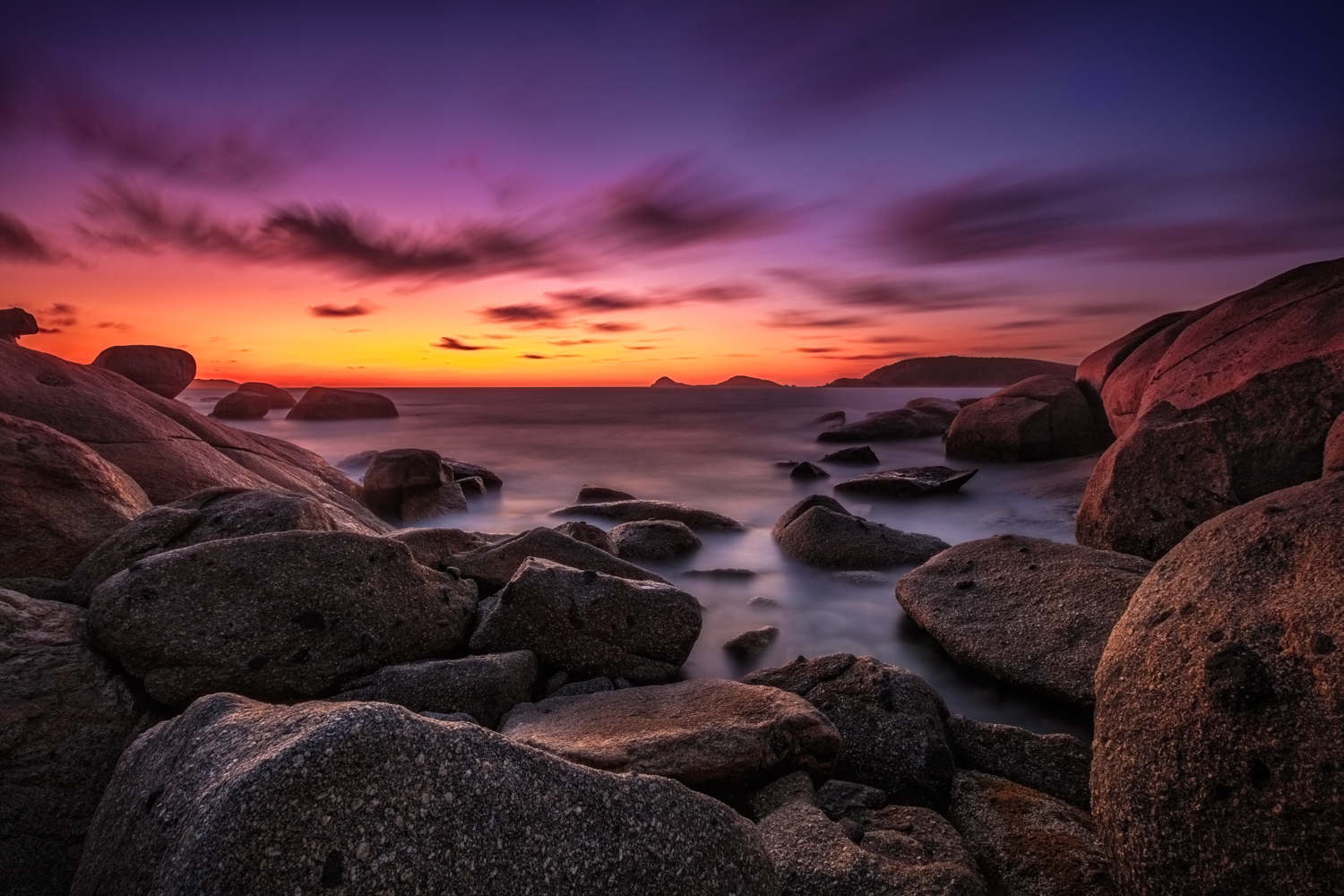 Landscape Photography Workshop Tours - Wilsons Promontory National Park
