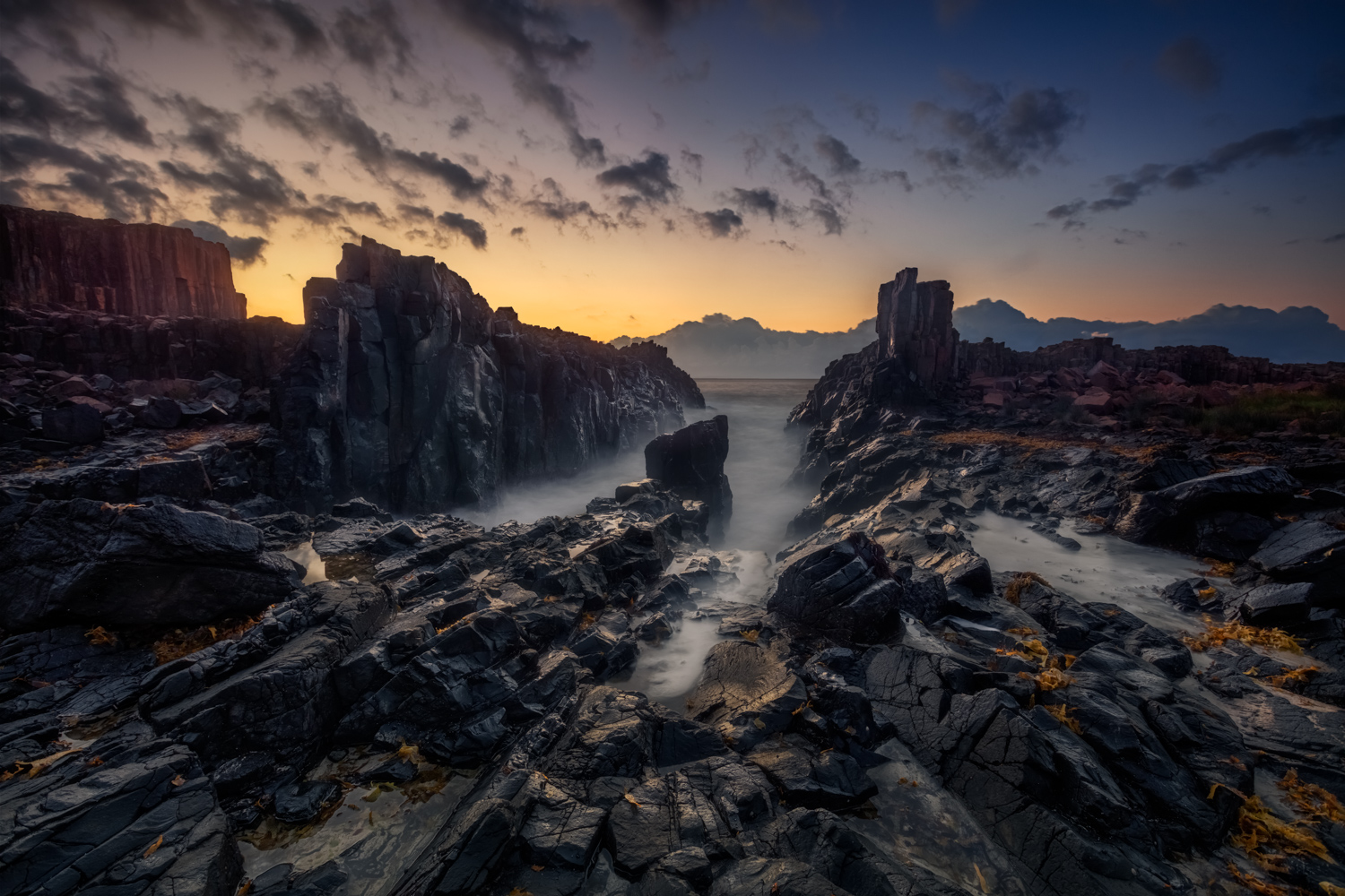 Landscape Photography Workshop Tours - Bombo Quarry, Kiama Photography