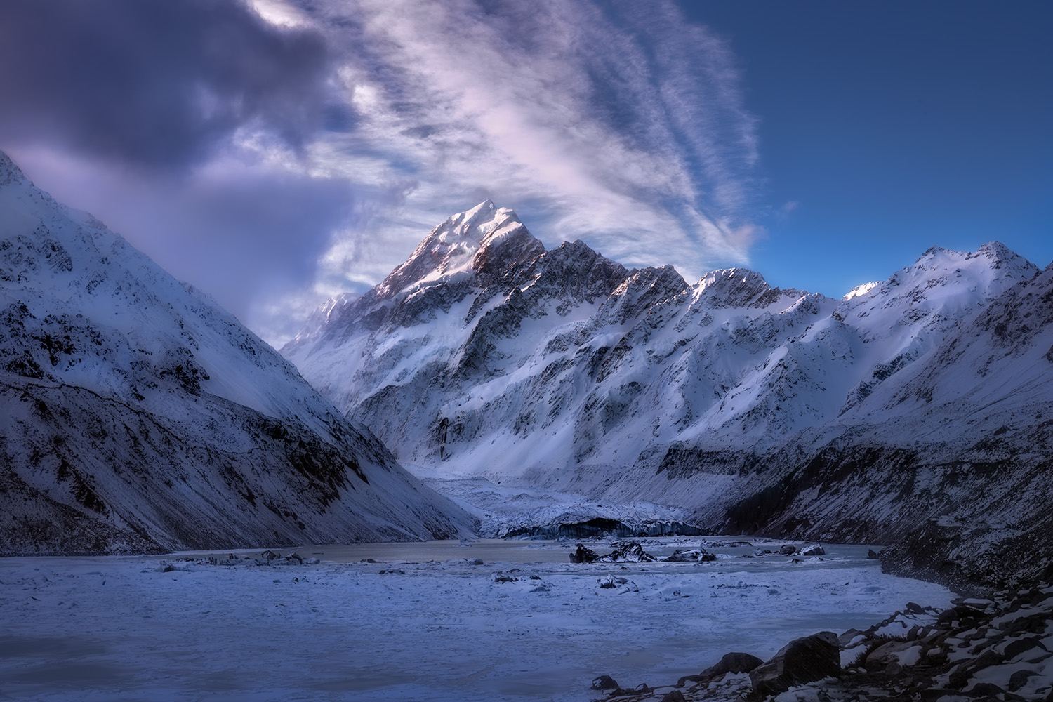 Landscape Photography Workshop Tour- Mt Cook, Hooker Valley Track, New Zealand by VivaKarolina