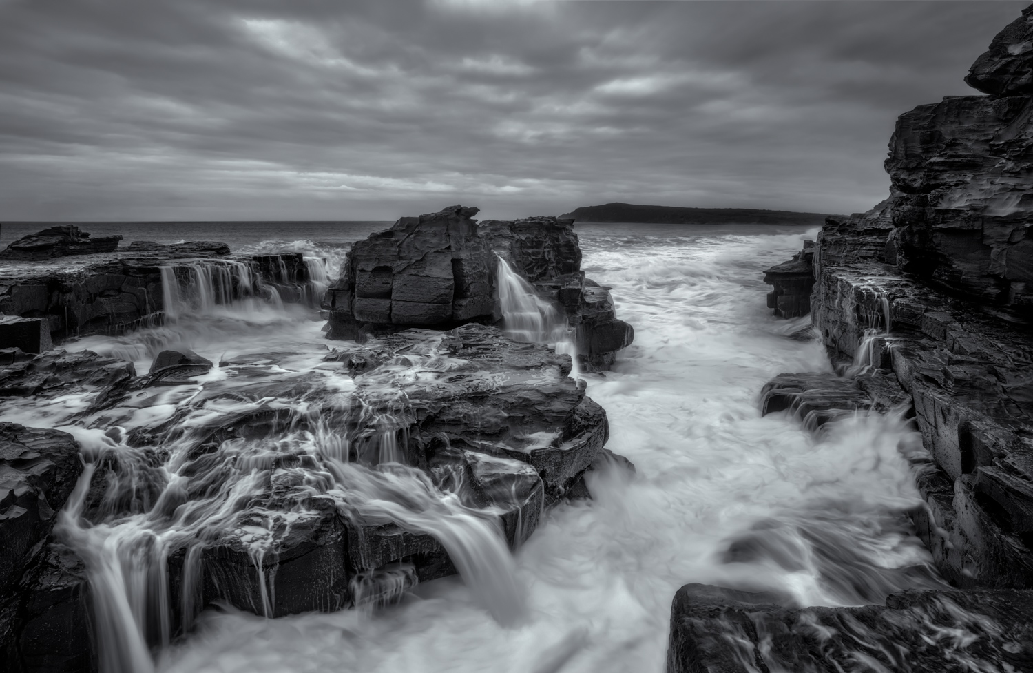 Long Exposure Photography Workshop - Cadillac Canyon, San Remo, Melbourne Photography