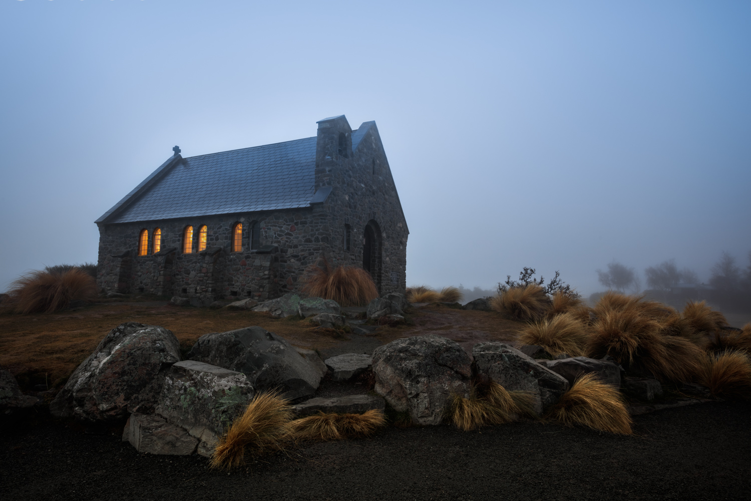 Landscape Photography Workshop Tours - The Church of the Good Shepherd, Lake Tekapo, New Zealand