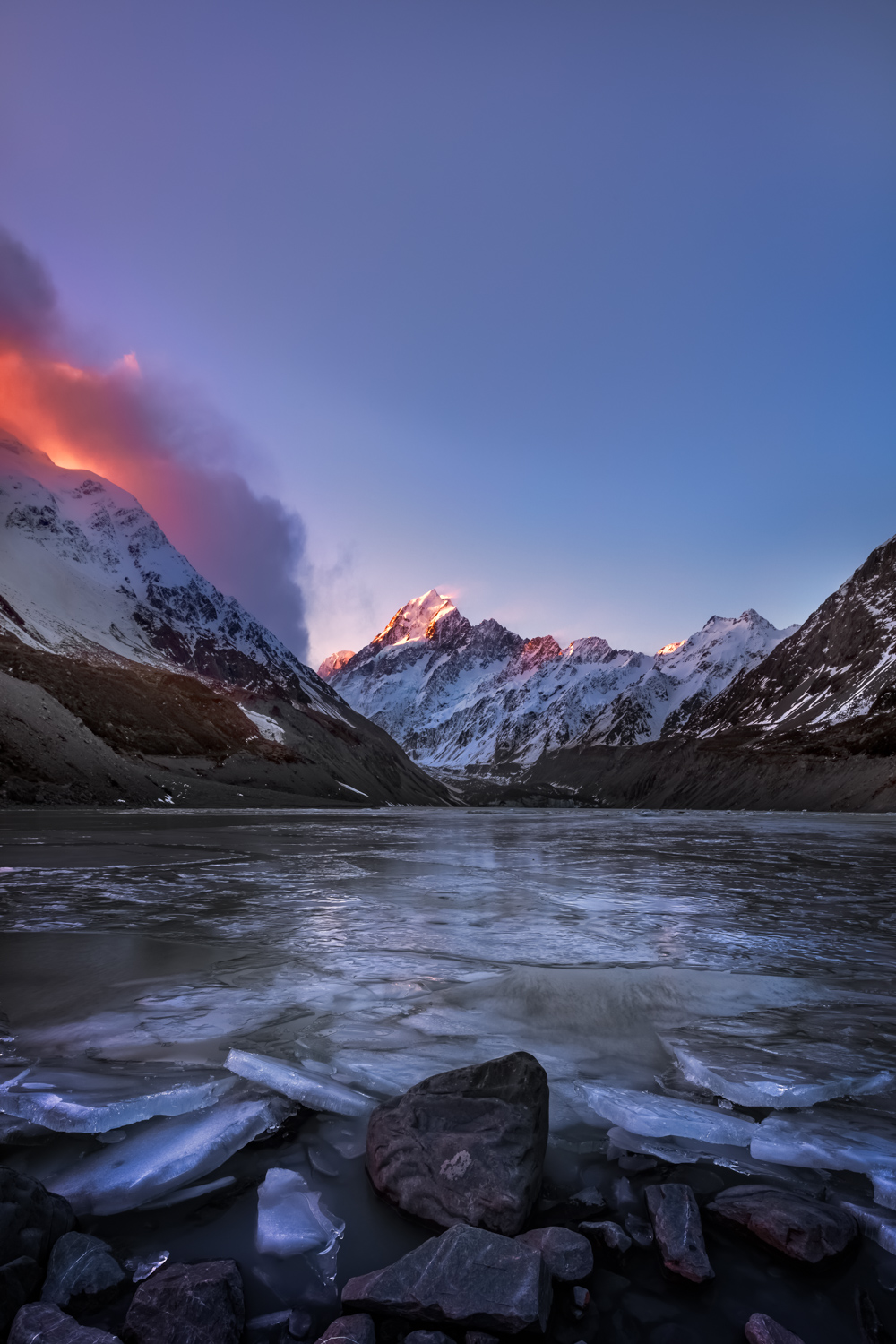 Landscape Photography Guided Tour - Mt Cook, Hooker Valley Track, New Zealand