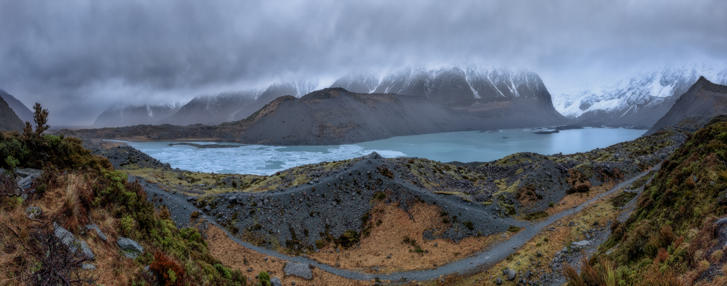 Landscape Photography Workshop Tours - Mt Cook, Hooker Valley Track, New Zealand