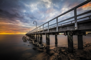 Long Exposure Photography Workshop - Lagoon Pier | Seascape Photography | We Are Raw Photography