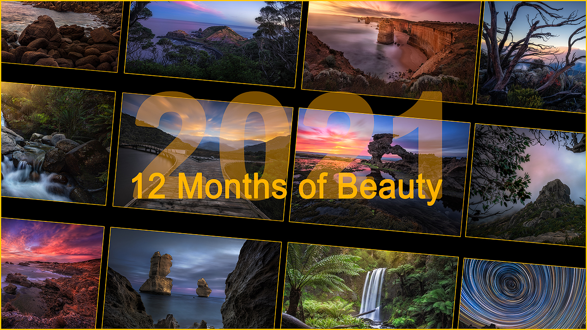 Wall Calendar | Australian Landscape Photography | We Are Raw Photography Tours