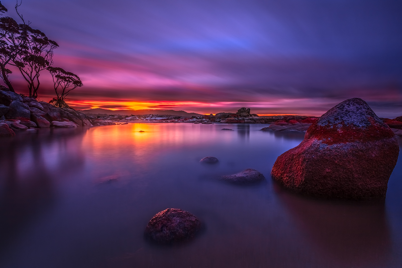 Landscape Photography Workshop Tours - Binalong Bay, Tasmania | We Are Raw Photography Tours