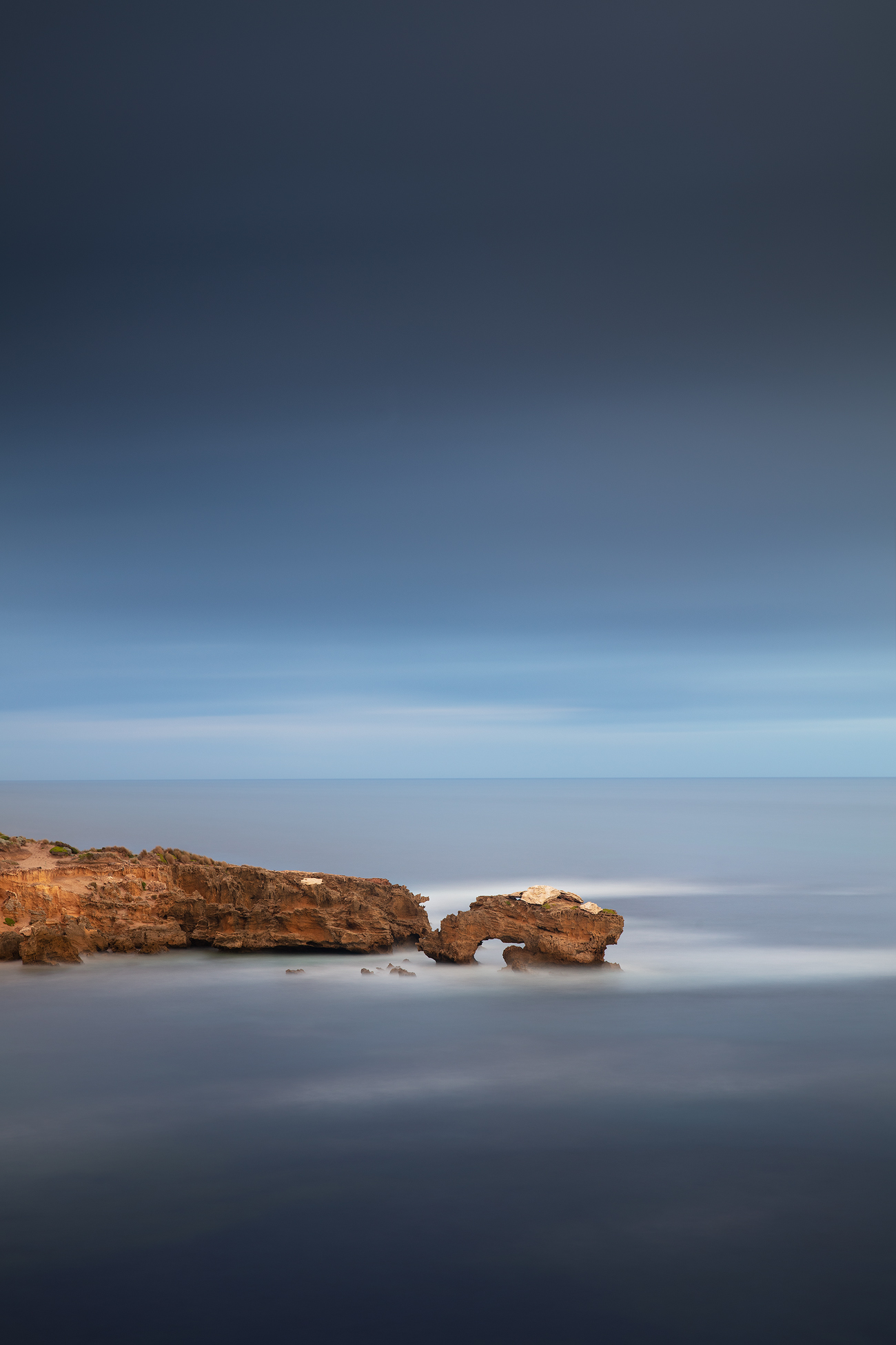 Minimal Long Exposure Landscape Photography | We Are Raw Photography - Sunset Mornington Peninsula, Bridgewater Bay