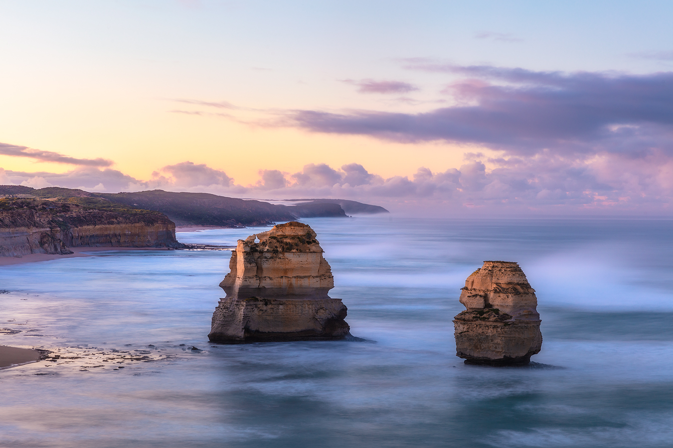 Sunrise at Gibson Steps - Twelve Apostles, Great Ocean Road, Australia | Fine Art for sale by We Are Raw Photography Tours