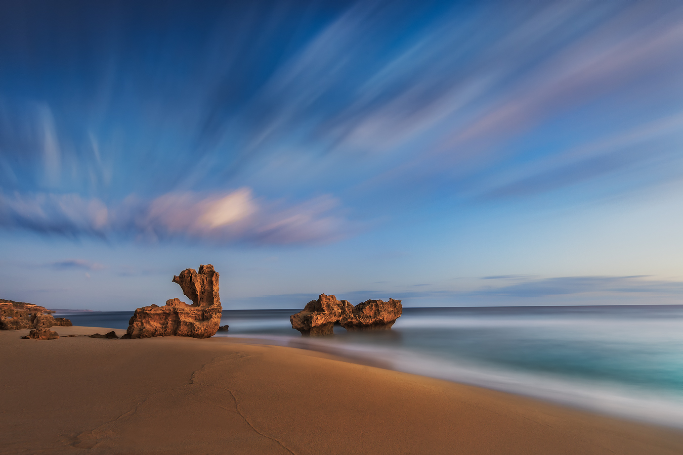 Montforts beach and the Bunny Rock | Landscape Photography | Long Exposure Photography | Mornington Peninsula | We Are Raw Photography