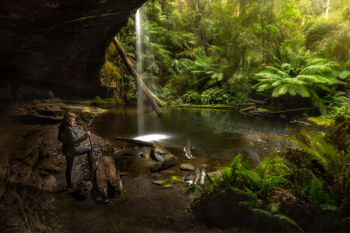 We Are Going On An Adventure - Lower Kalimna Falls, Lorne, Great Ocean Road, Australia   Holiday with We Are Raw Photography Tours