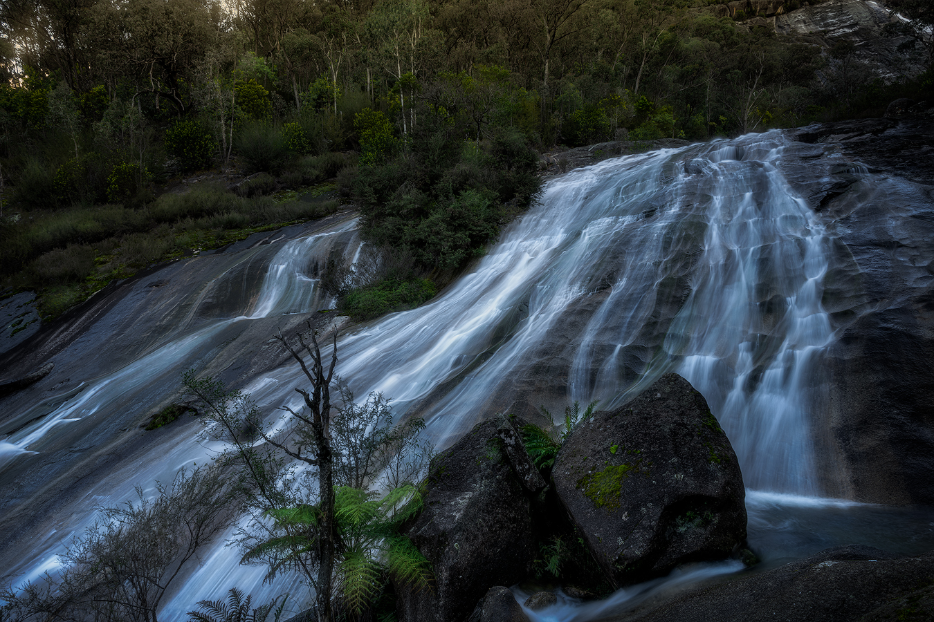 Waterfall Photography Workshop | Eurobin Falls Australian Landscape Fine Art | We Are Raw Photography Tours - Victorian Alps, High Country, Mount Buffalo in Winter
