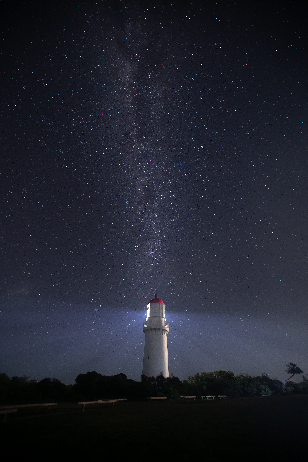 Night Photography Workshop Melbourne | Milky Way Cape Schanck Lighthouse | We Are Raw Photography
