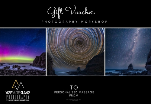 Photography Workshop Gift Vouchers-Personalised Gifts voucher gift idea photo workshops courses lessons_We Are Raw Photography Workshops Tours Melbourne