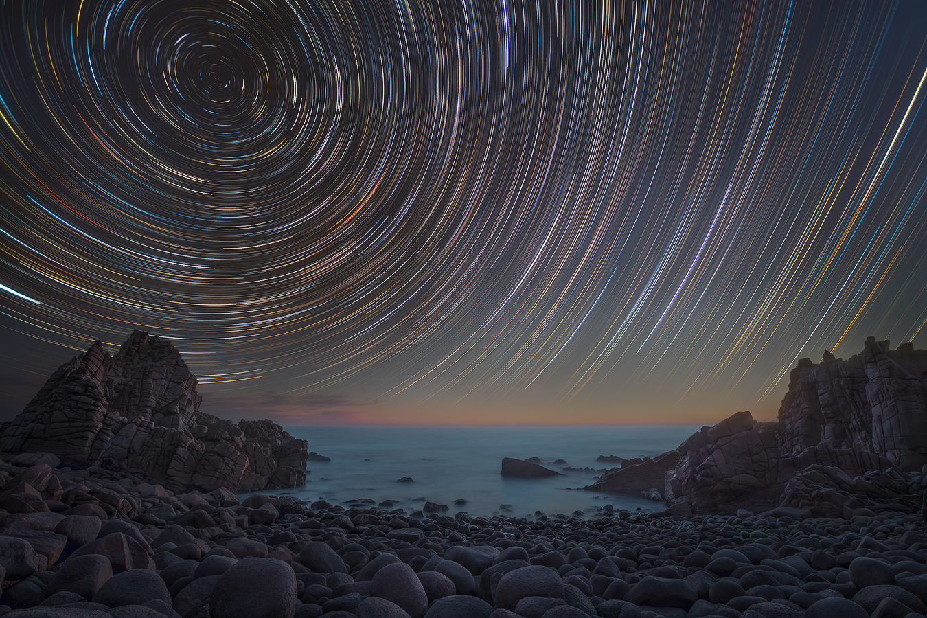 Astrophotography Workshop | Star trail Phillip Island Cape Woolamai Melbourne | Night Sky | We Are Raw Photography