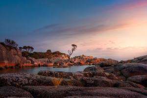 Tasmania Landscape Photography Tour - Binalong Bay Sunrise | Holiday with We Are Raw Photography Tours