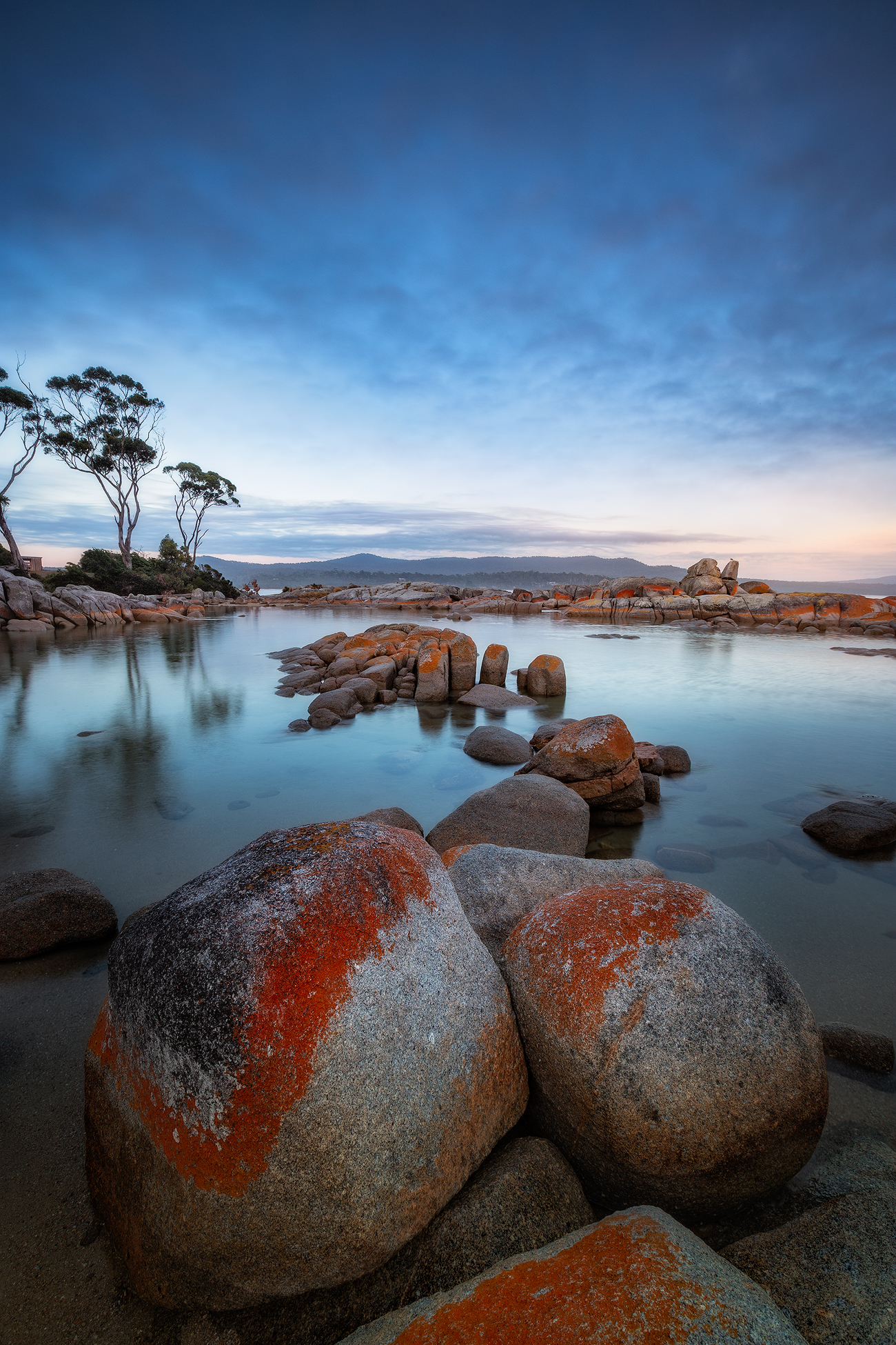 6 Day Tasmania Landscape Photography Tour - Binalong Bay Promising Another Spectacular Day | Holiday with We Are Raw Photography Tours
