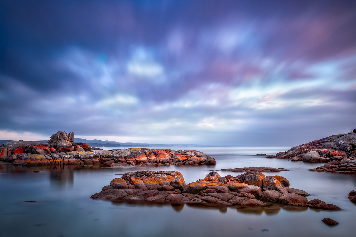 Tasmania Landscape Photography Tour - Binalong Bay in the Bay of Fires | Holiday with We Are Raw Photography Tours