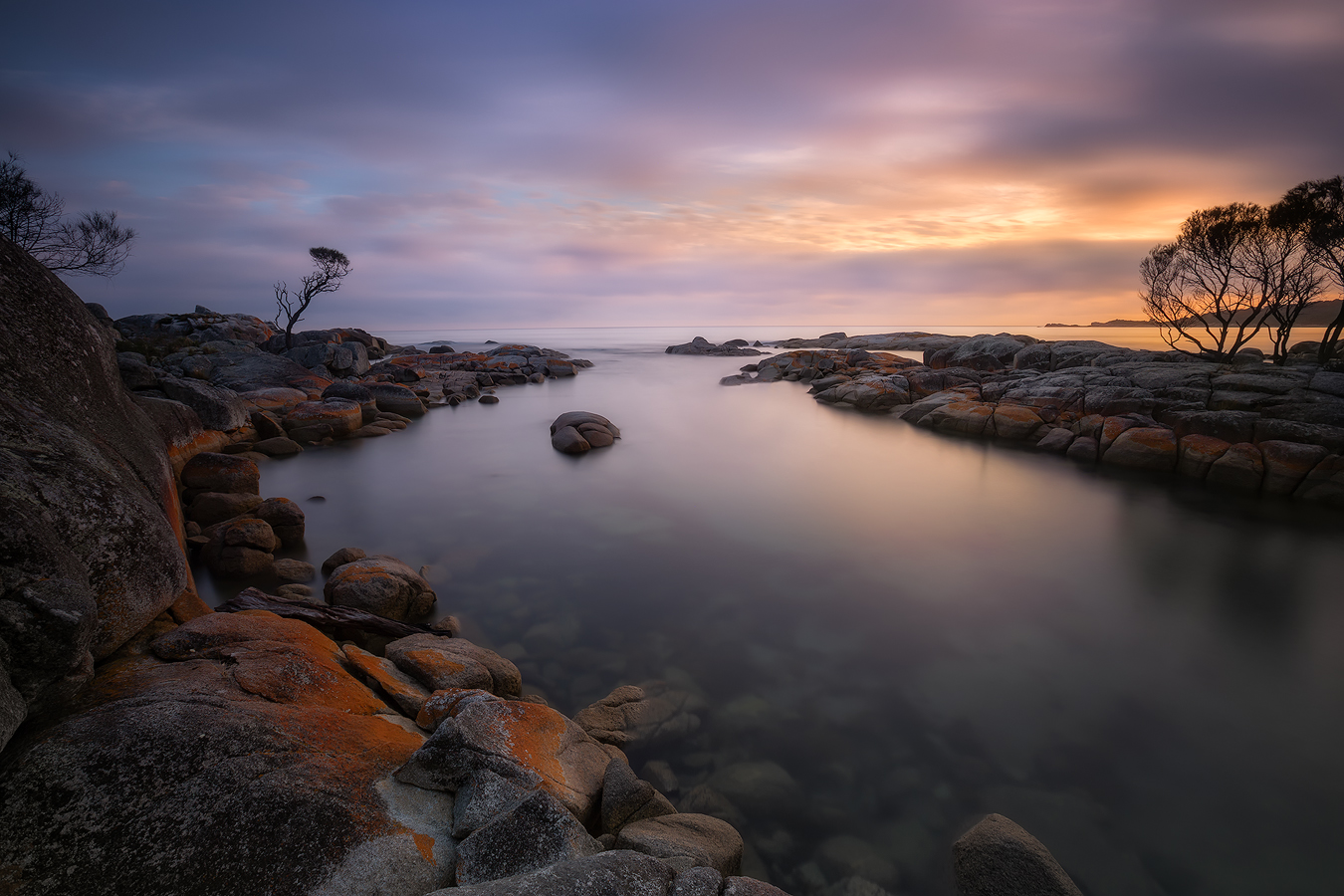 Tasmania Landscape Photography Tour - Remote Wonders Binalong Bay | Holiday with We Are Raw Photography Tours