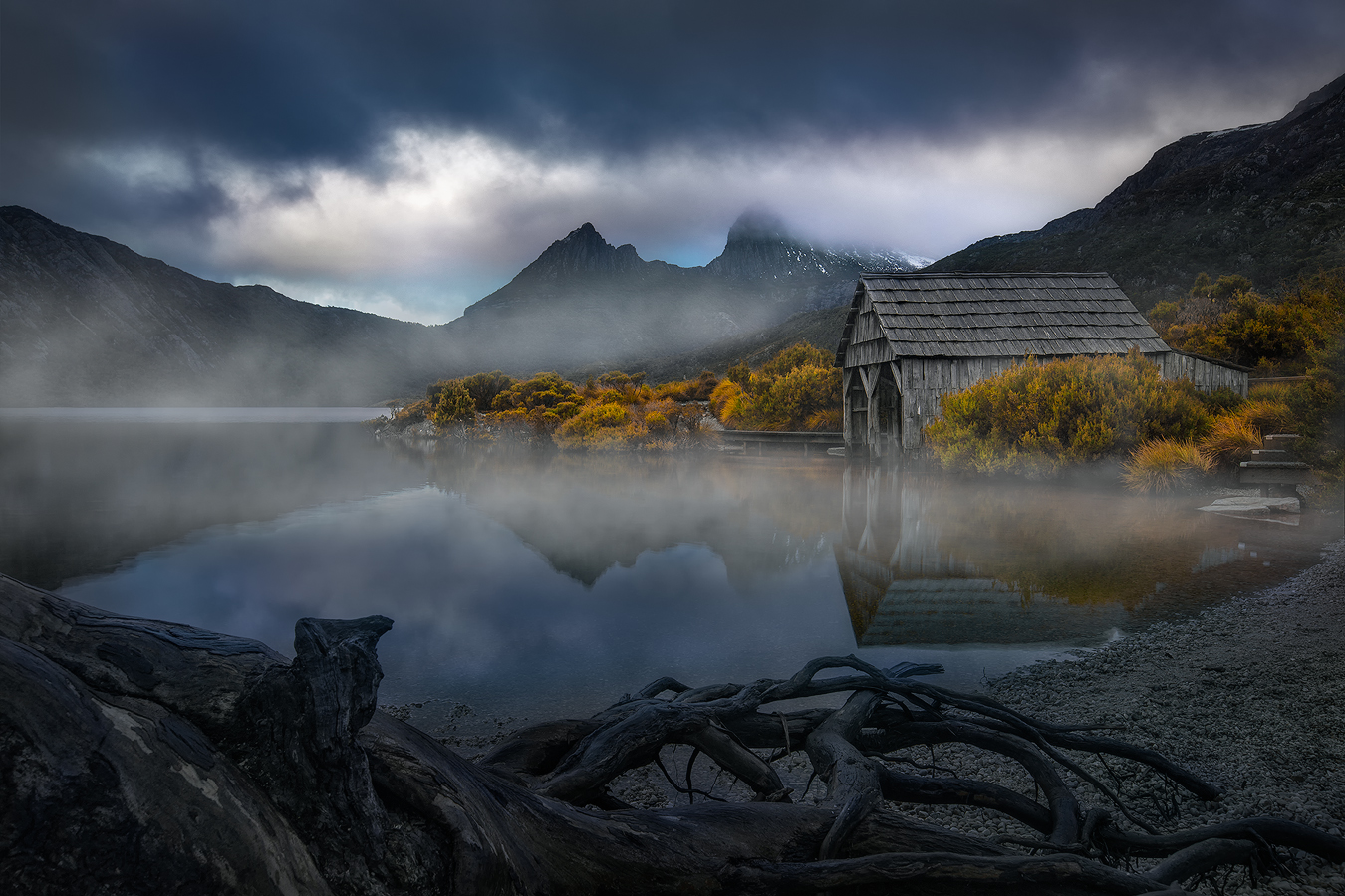 Tasmania Landscape Photography Tour - Moody Cradle Mountain Sunset | We Are Raw Photography
