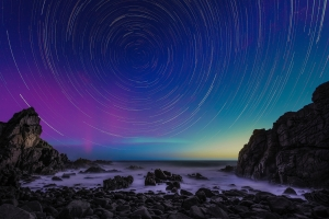 Aurora Australis at The Pinnacles | We Are Raw Photography Stargazing Tours