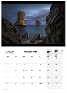 Wall Calendar 2021 | Visions of Victoria | 12 Months of Beauty by We Are Raw Photography | Australian Landscape Photography
