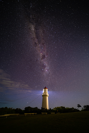 Cape Schanck Light house Milky-way Night Sky Course | We Are Raw Photography