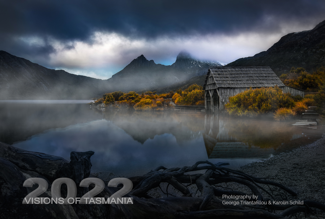 Wall Calendar 2022 - Visions of Tasmania - front page