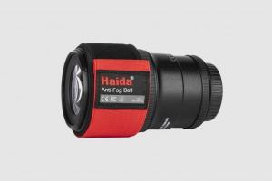 Haida Anti Fog Belt showing on lens