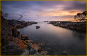 Tasmania Landscape Photography Calendar - Binalong Bay